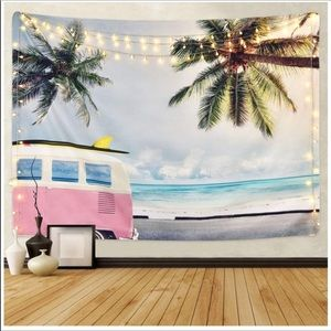 🎀 Beach Tapestry Wall Hanging NEW🎀
